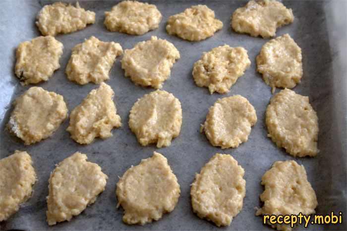 Приготовление нутового печенья